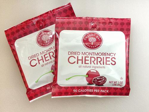Dried Montmorency Cherries via Lizshealthytable.com