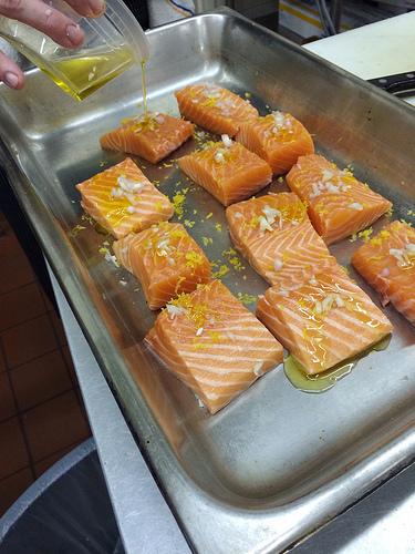Salmon via Lizshealthytable.com