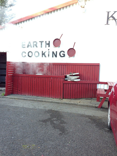 Earth Cooking in Iceland via Lizshealthytable.com