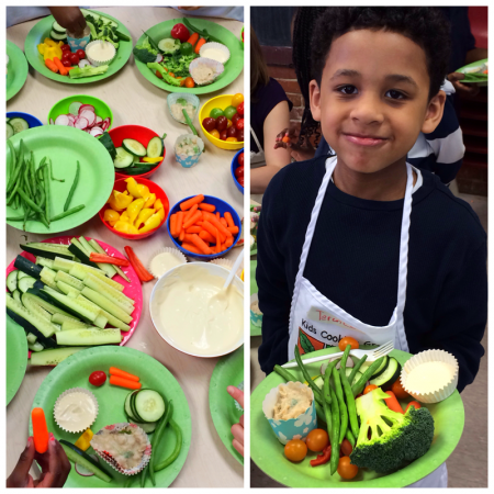 Kids Cooking Green via Lizshealthytable.com