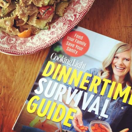 Dinnertime Survival Guide via LizsHealthyTable.com