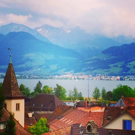 Rapperswil view via Lizshealthytable.com