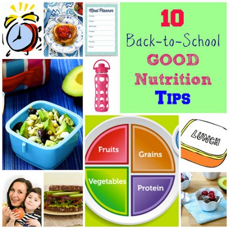 Back to School Nutrition via Lizshealthytable.com