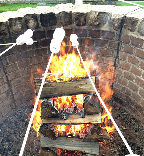 Blog Brûlée toasting marshmallows via Lizshealthytable.com