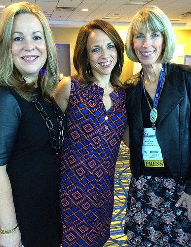 Janet Helm, Regan Jones, Liz Weiss at FNCE meeting via LizsHealthyTable.com