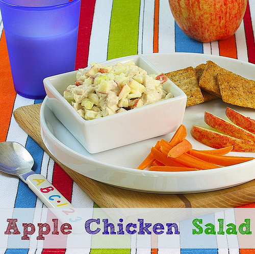 Apple Chicken Salad via Lizshealthytable.com