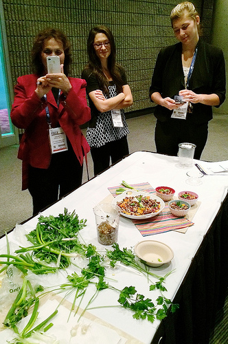 FNCE workshop: From Drab to Delicious, Food Photography and Styling Tips for Dietitians via LizsHealthyTable.com