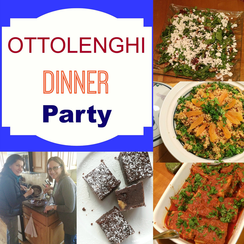 A Dinner Party with Recipes from Chef Yotam Ottolenghi via LizsHealthyTable.com