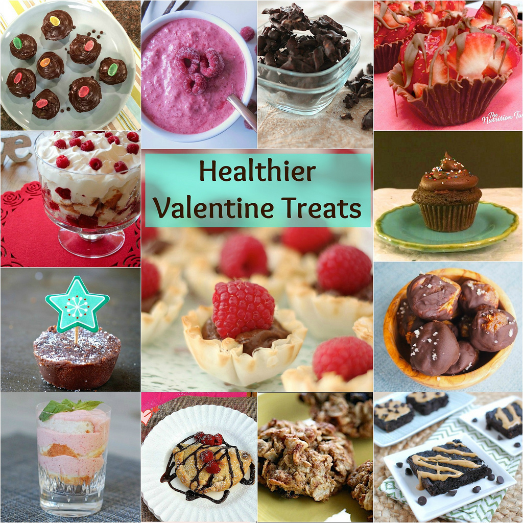 Healthy Valentine Treats via LizsHealthyTable.com