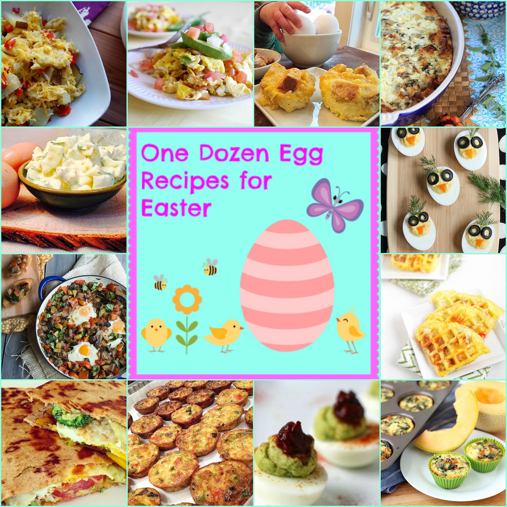 12 Healthy Egg Recipes via LizsHealthyTable.com