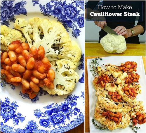 Healthy Cauliflower Recipes via LizsHealthyTable.com