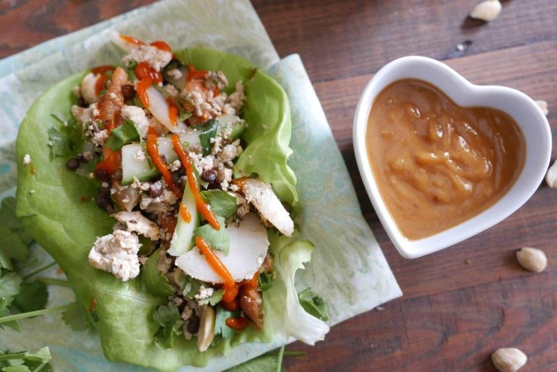 Lettuce Wraps via LizsHealthyTable.com