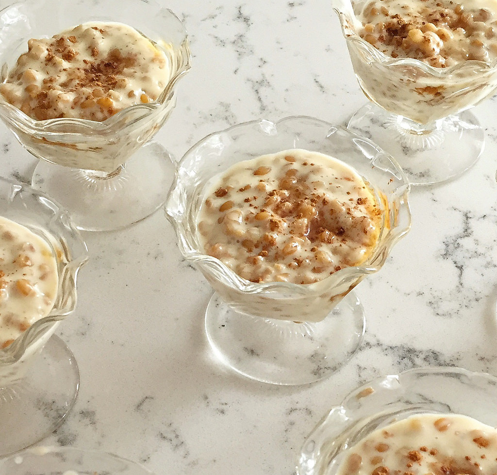Simply Ancient Grains dessert via LizsHealthyTable.com