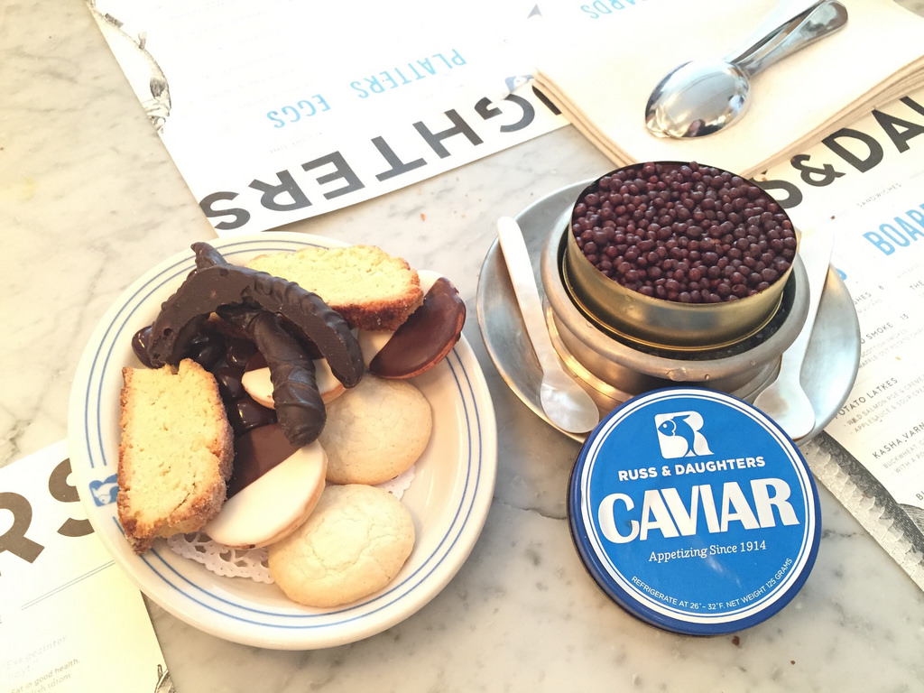 Russ & Daughters Cafe and Appetizer Store via LizsHealthyTable.com
