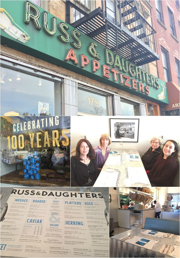 Russ and Daughters via LizsHealthyTable.com