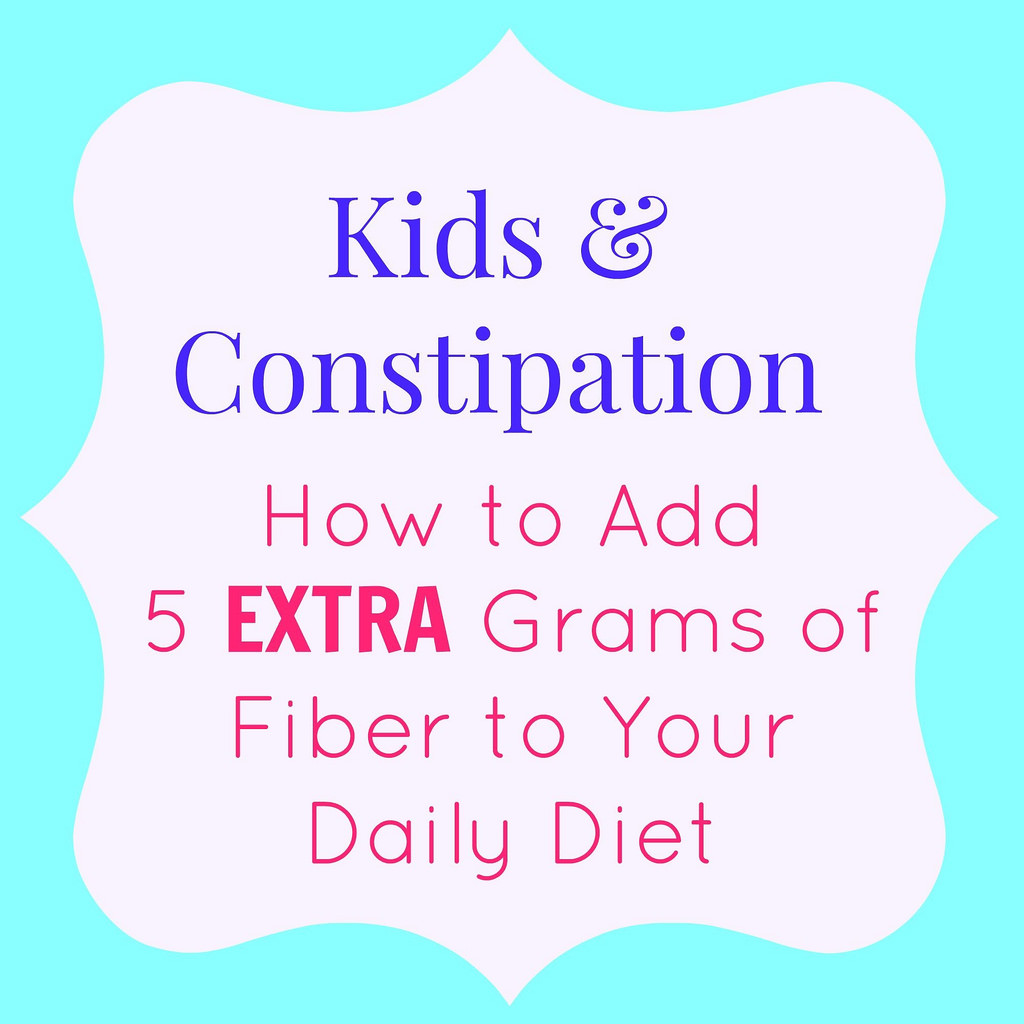 Kids and Constipation via LizsHealthyTable.com