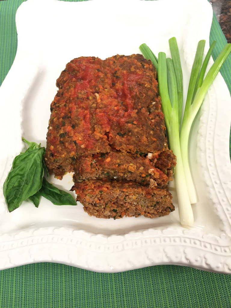 Rib-Sticking Meatloaf Makeover via LizsHealthyTable.com