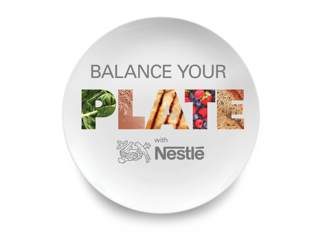 Balance Your Plate with Nestle via LizsHealthyTable.com