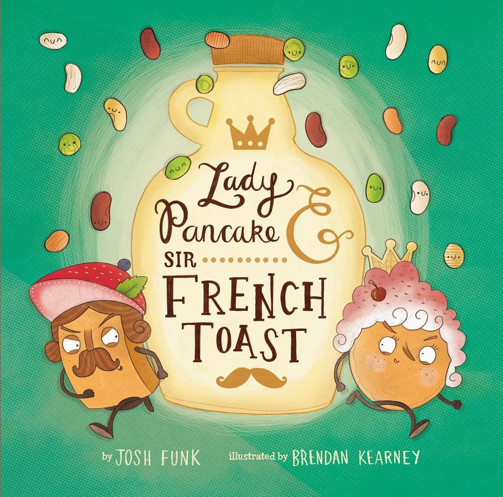 Lady Pancake and Sir French Toast - Book Review via LizsHealthyTable.com