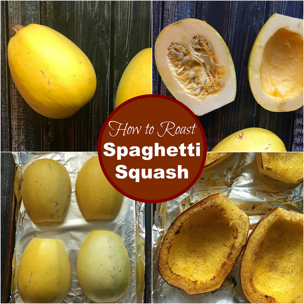 How to Roast Spaghetti Squash via LizsHealthyTable.com
