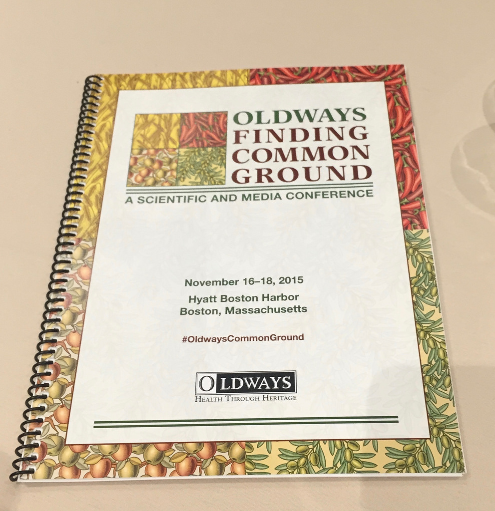 Oldways -Finding Common Ground conference via LizsHealthyTable.com