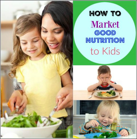 Market Good Nutrition to Kids via LizsHealthyTable.com