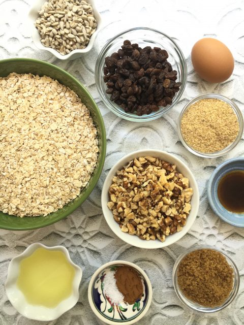 Healthy Homemade Granola via LizsHealthyTable.com