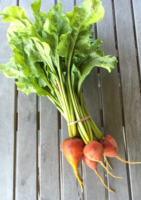 Beets and Beet Greens via LizsHealthyTable.com