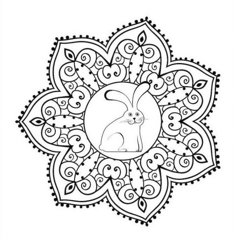 Adult Coloring Book via LizsHealthyTable.com
