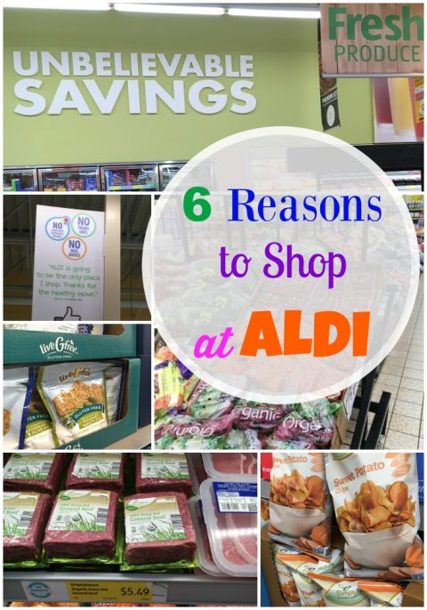 My Top 6 Reasons for Shopping at ALDI via LizsHealthyTable.com