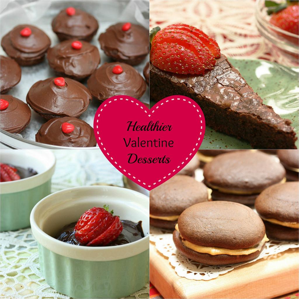 Healthier Chocolate Dessert Recipes via LizsHealthyTable.com