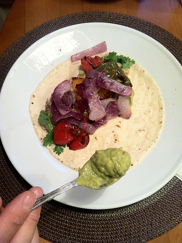 Tilapia Tacos Your Way via LizsHealthyTable.com