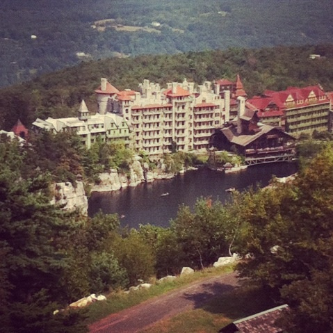 Mohonk Mountain House Family Reunion via LizsHealthyTable.com