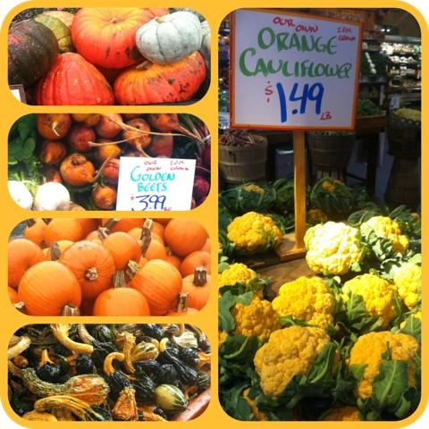 Orange Cauliflower via LizsHealthyTable.com