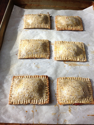 Strawberry-Filled Toaster Pastries via LizsHealthyTable.com