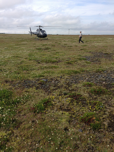 Helicopter Ride in Iceland via Lizshealthytable.com