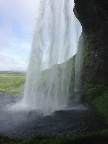Waterfall via LizsHealthyTable.com