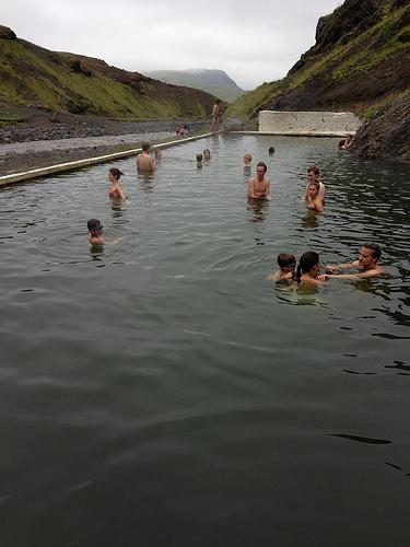 Seljavallalaug Natural Swimming Pool via Lizshealthytable.com