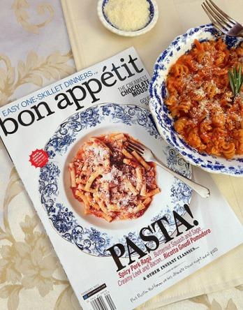 Bon Appetit Magazine via LizsHealthyTable.com